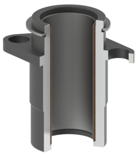 Guided Keeper Teflon Bushing