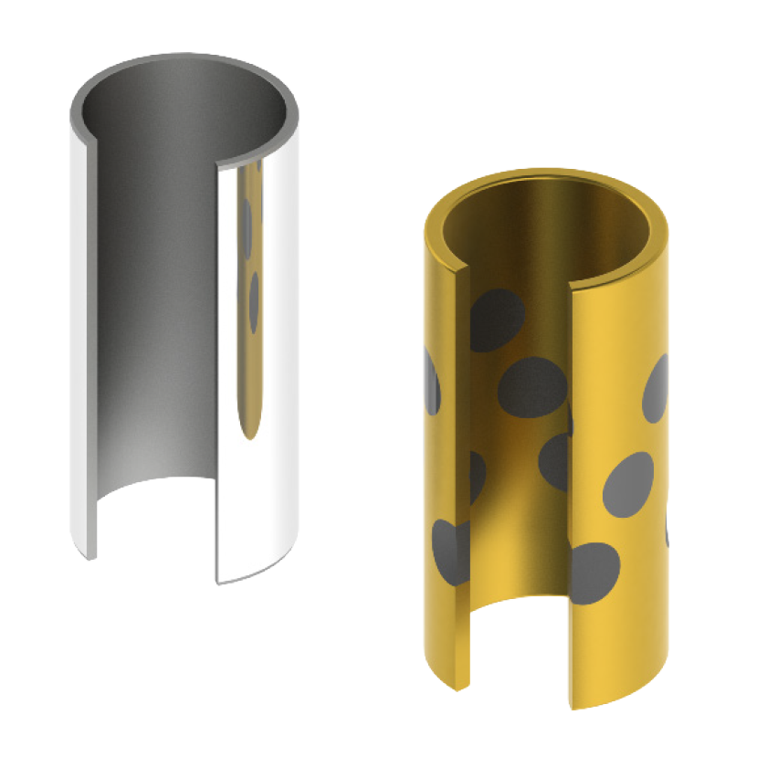 Bronze bushing and standard bushing styles