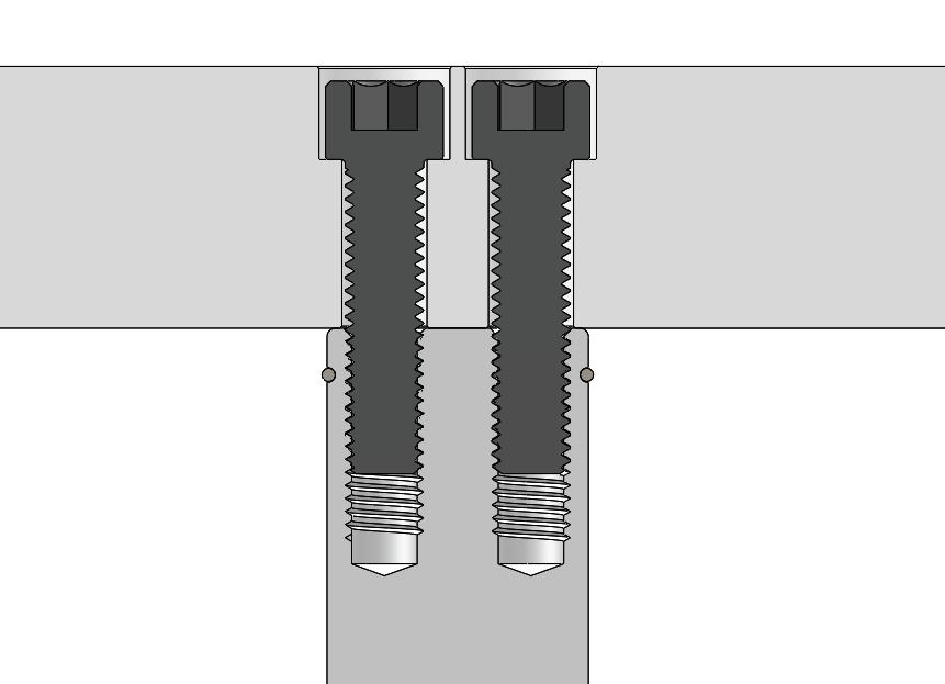 GK120 Pad Pins Close Up