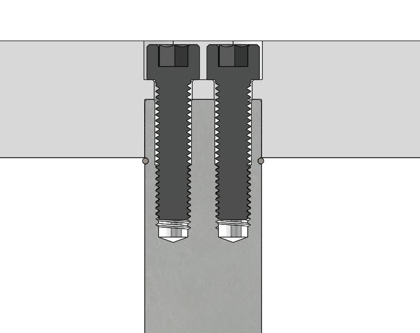 GK122 Pad Pins Close Up