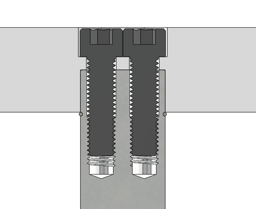 GK152 Pad Pins Close Up