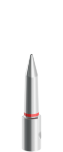 10mm-25mm Silver Tapered Pilot with Red Stripe
