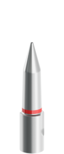 13mm-25mm Silver Tapered Pilot with Red Stripe
