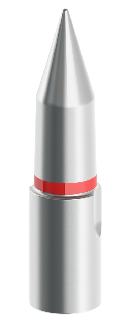 20mm-25mm Silver Tapered Pilot with Red Stripe