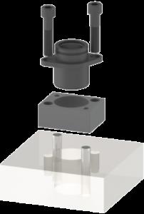 Black Base, Pin and Adapter Assembly