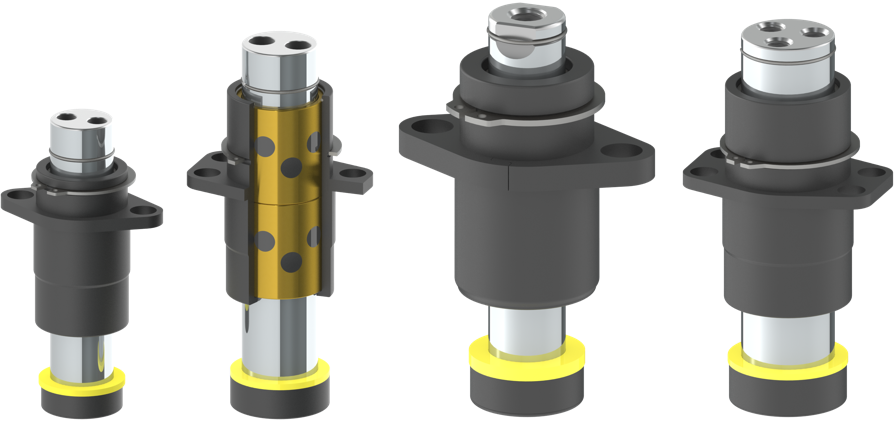 Guided Keeper options with inside GK Bronze bushing